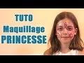 Carnaval: maquillage de princesse pour enfant