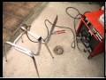 Réparation Solide d'une chaise structure tube acier