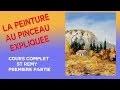 St Remy- Peinture a l huile au pinceau- 1 ère partie
