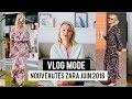 Nouveautés Zara juin 2018- Haul Mode