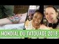 UN TATTOO EN DIRECT DU MONDIAL DU TATOUAGE 2018