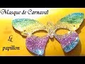Masque de papillon : Fabrication masque d'animaux pour Carnaval