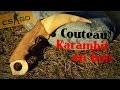 comment faire un couteau karambit CSGO en bois