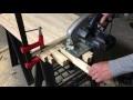 Fabriquer un table basse bois et métal (DIY making a wood and metal coffee table)