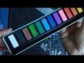 TESTE:  Aquarelle Set de peinture, Papier et Aqua-brushes de chez ACTION