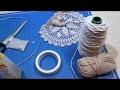 DIY attrape rêves SIMPLE avec napperon dentelle