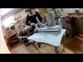 Fabrication d'une coiffeuse en Chêne dernière partie/Build Make-up dresser part4