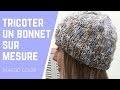 Tricoter un bonnet sur mesure (magic loop)