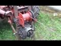 Treuil forestier avec une boite à vitesse de 2cv citroen
