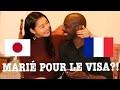 MARIÉ À UNE JAPONAISE POUR LE VISA?!LA JALOUSIE DES JAPONAIS...