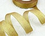 1x 25Yard Rouleau de 15mm or métallique ruban en organza de Noël Pour Cadeaux (Crafts-Bijoux-accessoires fashion Charms Décoration-jewelry par GCS