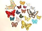10 À Repasser, À Coller Sur Tissu Papillon Motifs, Loisirs Créatifs, Couture, Broderie, Patchs