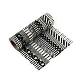10 rouleaux Washi Tape Masking tape- Ruban Adhésif Papier Décoratif DIY klebriger Scrapbooking Papier autocollant décoratif ruban