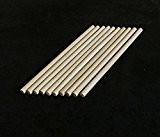 10x chevilles en bois, bâtonnets de Craft 6mm d'épaisseur, 10cm, 15cm, 30cm de long, 10 cm