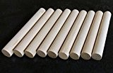 10x chevilles en bois, Craft bâtons de 20mm d'épaisseur, 10cm, 15cm, 30cm de long, 15cm