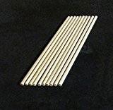 10x chevilles en bois, Craft bâtons de 4mm d'épaisseur, 10cm, 15cm, 30cm de long, 30 cm