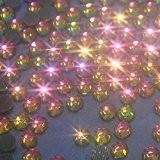 100 Strass ROSE ARC EN CIEL hotfix [Ø 4,5mm s20 RAINBOW couleur n°140 BLING