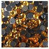 1000 Strass Hotfix S6 2mm GOLD OR N°114