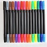 """15 Double feutre """"felt"""" tip pour diverses tâches en coloris assortis-drawing schéma fine art de marquage flair ink double de ..."""