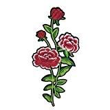 1pcs Ecusson Brodé Patch Appliqué Broderie Dentelle Motif Fleur Pour Coudre Vêtement - # 5