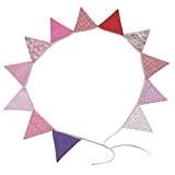 2,3M Guirlande Bannière Banderole en Coton Décoration pour Cérémonie Mariage Anniversaire