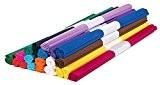 20 rouleaux de papier crépon, couleurs variées, Gros acheteurs VBS