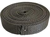 20mm x 5m Black Polypropylene Webbing by Athena Crafts Ltd.