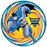 23cm Batman Assiettes, Lot de 8