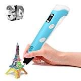[3D Pen Stylo] Ohuhu® Stylo d'Impression 3D/Dessin Stylo 3D/Printing Pen Pour 3D Drawing avec écran LCD + 3Gratuites Loops de ...