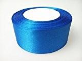 40mm x 22m Ruban Satin Double Face Rouleau - Moulinet de Double face Polyester Tissu pour la couture, Arts et ...