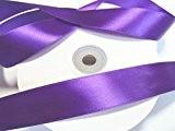 50 m satin ruban 25 mm de large: Violet