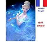 5D Broderie diamant toile entière, kit complet VENDEUR FRANÇAIS ... (cendrillon 30x40)