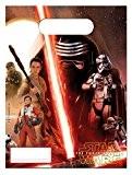 6 Sacs à Surprise de fête Star Wars VII Le Réveil de la Force en plastique