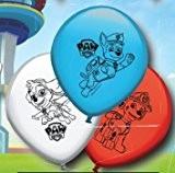 8 Ballons de baudruche en latex PAT PATROUILLE Paw patrol