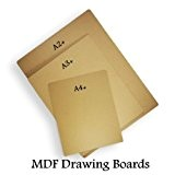 A2 MDF artiste 9 planches à dessin esquisse lisse anti-déformation-Lot de 1