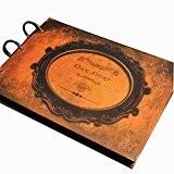 Album photo Album photo rétro DIY Cadeaux créatifs Mémorial Notre histoire 19X27CM Brown 1PCS