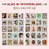 Alice au pays des merveilles Tampon Sticker