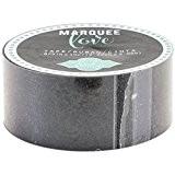 American Crafts Heidi Swapp Marquee Love Washi bande 0.875-inch Noir, paillettes, 10