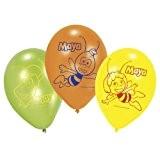 Amscan - 450290 - 6 Ballons Latex Maya l'Abeille 23 cm/9''