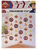 Amscan International Guirlandes décoratives Sam le pompier 2m Cordes Décorations