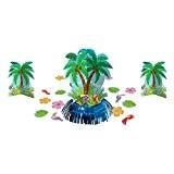 Amscan Kit de décoration de table pour Palmier Hawaï 280054