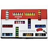 Amsterdam - Ensemble de 72 tubes de peinture acrylique de 20ml (70 couleurs + 2 Blanc)
