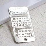 Amupper iOS UI UX modèles Taille pour iPhone 66S Plus pour création de contenu interactif Size6/6S-Plus