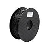 Anycubic Haute Ténacité Imprimante 3D Filament PLA Tolérance +/-0.02 mm -1KG (1.75mm, Noir)
