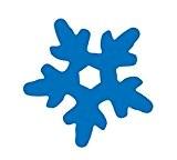 Artemio forme de flocon de neige pour Happycut, découpé à la Machine