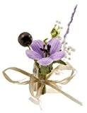 Au plaisir des yeux - 12 pinces à linge fleur lilas