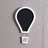 Ballons couleur sépia tableau décoratif parachute message board , blanc