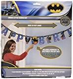 Batman Jumbo Add-an-Age Guirlande d'anniversaire