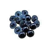 bayee Lot de 100en acrylique noir brillant Bouton Ours Poupée Eyes, à coudre sur tige en acrylique noir brillant Bouton ...