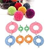 bluelans® 4tailles de pompons Maker Fluff boule Weaver DIY Craft Kit Outil à Tricoter